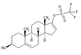 Abiraterone Related Compound 2 (Prasterone Triflate)