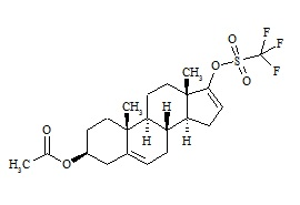 Abiraterone Related Compound 4 (Prasterone Acetate Triflate)