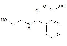 Amlodipine Impurity ( N-(2-hydroxyethyl)-phthalamic acid )
