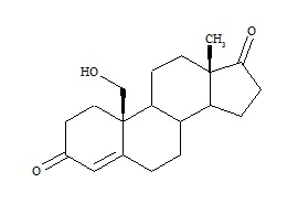 19-Hydroxy-4-androsten-3,17-dione