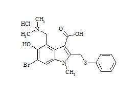 Arbidol Impurity F HCl