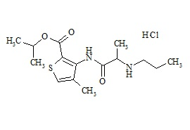 Articaine Impurity C (Articaine Isopropyl Ester HCl)