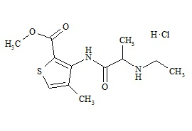 Articaine Impurity D (Ethylarticaine HCl)