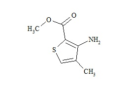 Articaine Impurity I (Methyl 3-Amino-4-Methylthiophene-2-Carboxylate)