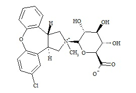 Asenapine-N-Glucuronide (Mixture of Diastereomers)