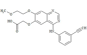 Desmethyl Erlotinib Carboxylate Acid
