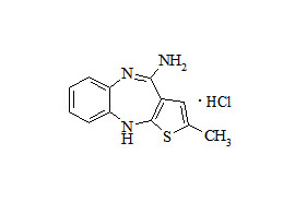 Olanzapine Related Compound HCl