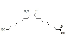 10-Nitro Oleic Acid (Mixture of Z and E Isomers)