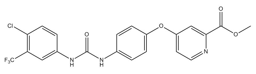 Sorafenib related compound 26